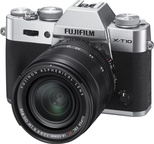 FujiFilm X-T10 + 18-55 Silver