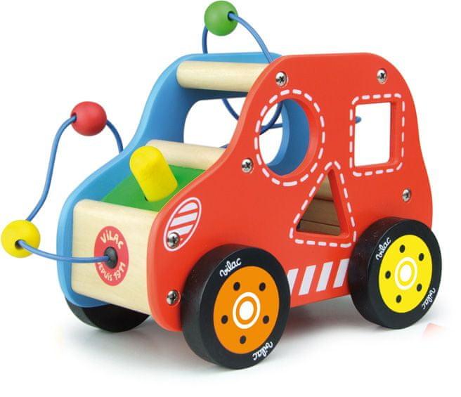 Vilac Dřevěné motorické auto