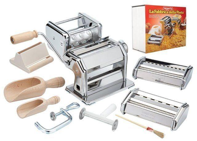 Imperia La Fabbrica della Pasta strojek na těstoviny s doplňky