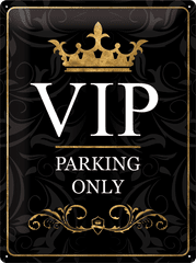 Postershop Metalowa tabliczka 30x40 cm VIP Parking Only