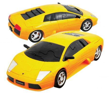 Eureka! 3D Puzzle - Lamborghini Murciélago Sárga