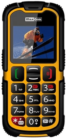 MaxCom GSM telefon MM 910 BB, rumen
