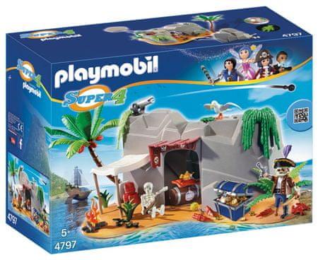 Playmobil Piracka jaskinia 4797