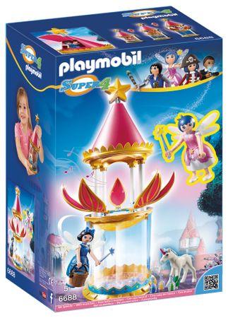 Playmobil Muzykująca kwiatowa wieża z Iskierką i Donellą 6688