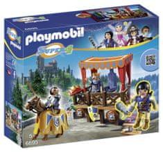 Playmobil kraljeva tribuna z Alexom 6695