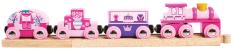 Bigjigs Rail Vlak pre princezné + 3 koľaje