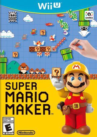 Nintendo Super Mario Maker + artbook / WiiU