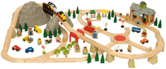 Bigjigs Rail Horská cesta 112 dílů