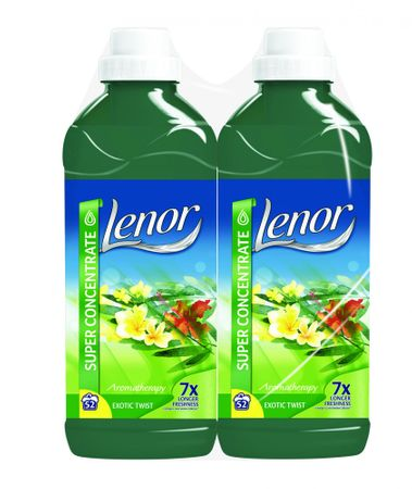 Lenor omekšivač Exotic Twist, 2 x 1,3 l