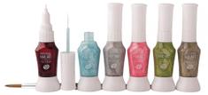 RIO Nail Art - Metalics 6 pens