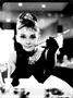 1 - Postershop okrasna tabla Audrey Hepburn 30 x 40 cm