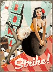 Postershop Metalowa tabliczka 30x40 cm Strike!