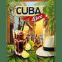 1 - Postershop ukrasna pločica Cuba Libre 30 x 40 cm
