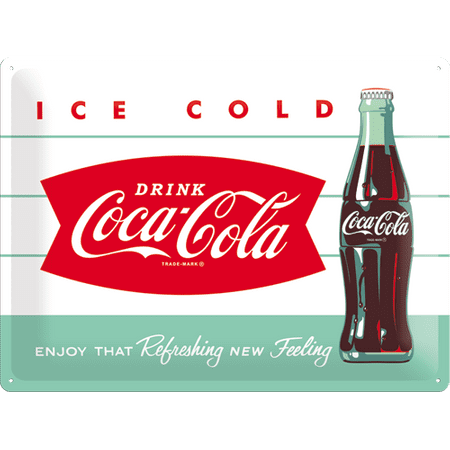 Postershop okrasna tabla Coca-Cola Ice Cold 30 x 40 cm