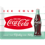 1 - Postershop okrasna tabla Coca-Cola Ice Cold 30 x 40 cm