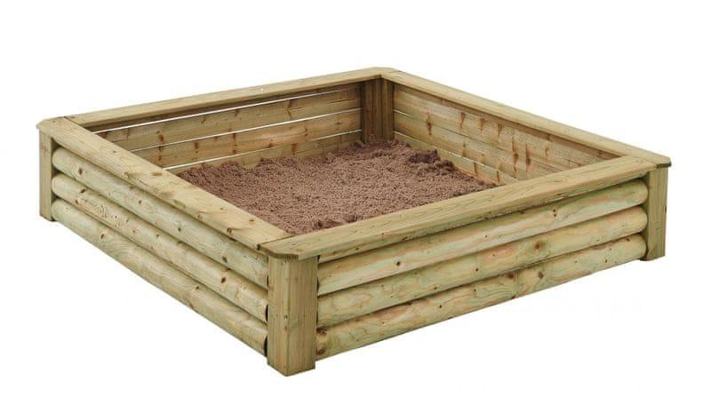 TRIGANO Pískoviště dřevěné 150 TOM