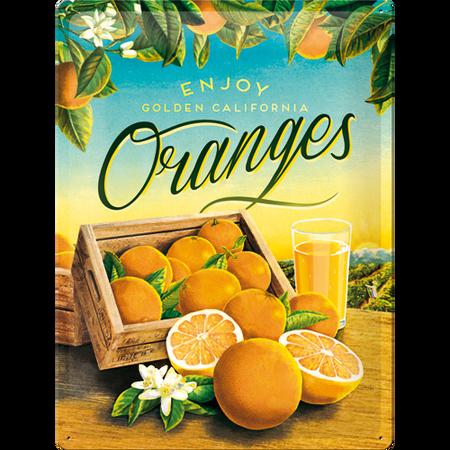 Postershop okrasna tabla Oranges 30 x 40 cm