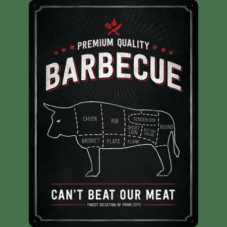 Postershop okrasna tabla Barbecue (Premium Quality) 30 x 40 cm