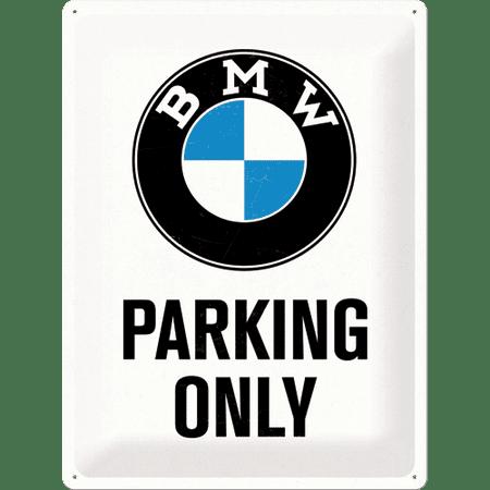 Postershop okrasna tabla BMW Parking Only 30 x 40 cm