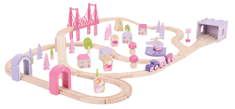 Bigjigs Rail Vláčikodráha pre dievčatá - princezné