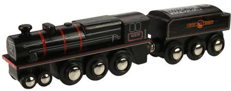 Bigjigs Rail Replika lokomotivy Black 5 engine