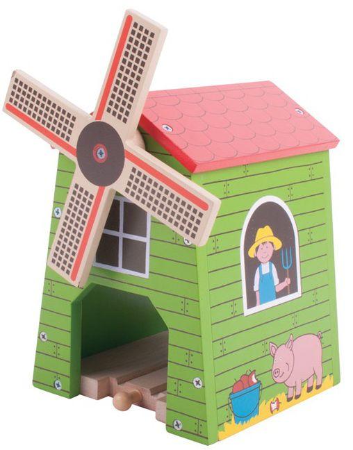 Bigjigs Rail Větrný mlýn