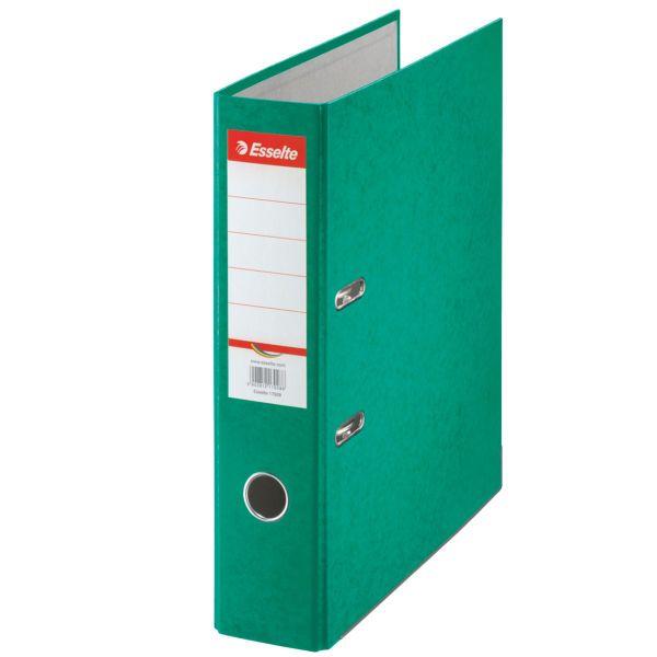 Pořadač pákový papírový Rainbow A4 7,5 cm zelený