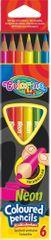 Pastelky trojhranné Colorino 6 neonových barev