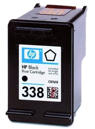 HP Kartuša C8765EE črna 11 ml #338