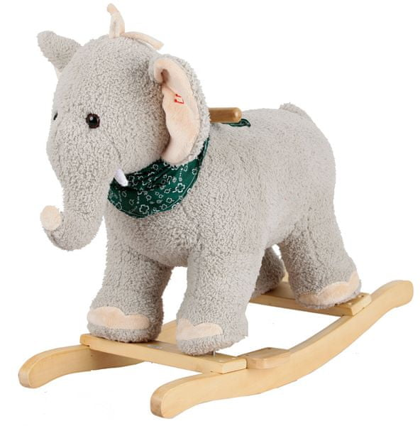 Alltoys Houpací slon plyš