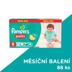 Pampers ActivePants 6 Extra Large Mega Box 88 ks