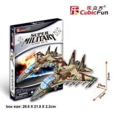 CubicFun Sukhol SU-35 bombázó 3D Puzzle, 35 db