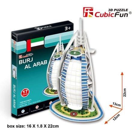 CubicFun Burj Al Arab 3D Puzzle, 17 db