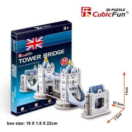 CubicFun Tower Bridge 3D Puzzle, 32 db