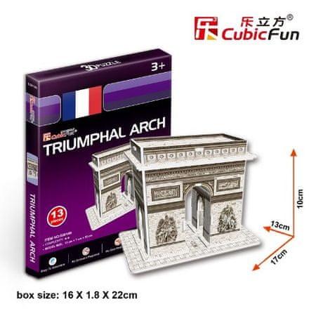 CubicFun Diadalív 3D Puzzle, 13 db