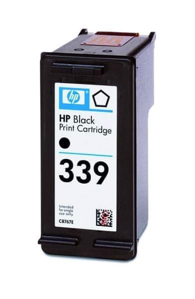 HP Náplň č.339 - Černá