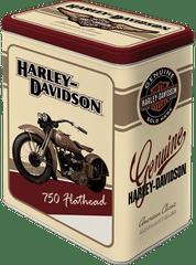 Postershop Retro dóza L Harley Davidson 10x14x20cm