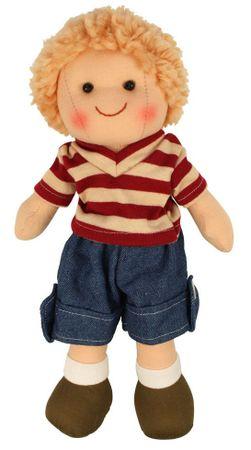 Bigjigs Toys Szmaciana lalka Harry 25 cm