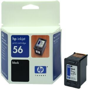 HP náplň č.56, černá 19 ml (C6656AE)