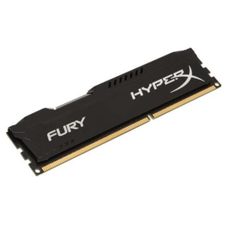 Kingston pomnilnik Hyperx Fury 4GB DDR3 1333 CL9, črn