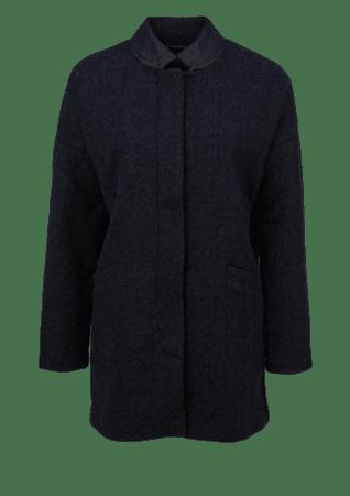 s.Oliver dámský kabát L tmavě modrá
