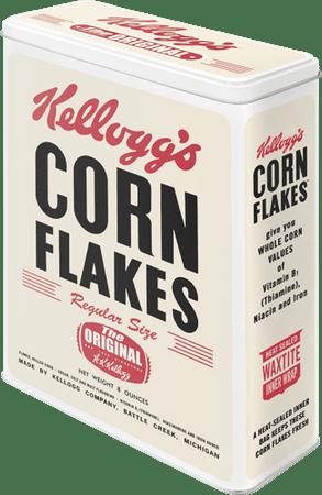 Postershop retro okrasna škatla Corn Flakes XL