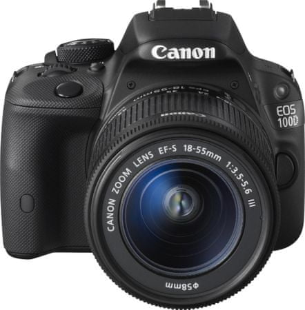 CANON EOS 100D + 18-55 mm DC III Digitális tükörreflexes fényképezőgép