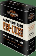 Postershop Retro dóza XL Harley Davidson Pre-luxe 8x19x26cm