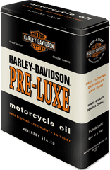 Postershop retro okrasna škatla Harley-Davidson Pre-luxe XL
