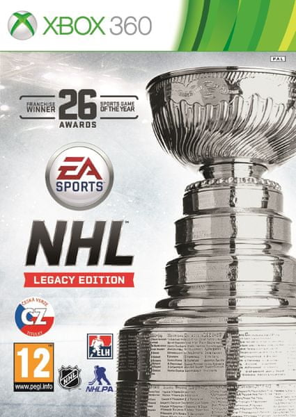 EA Sports NHL 16 Legacy edition / Xbox 360