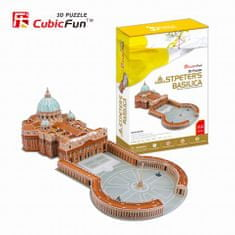 CubicFun St. Peter's Basilica 3D Puzzle, 144 db