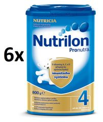 Nutrilon 4 Pronutra - 6 x 800g