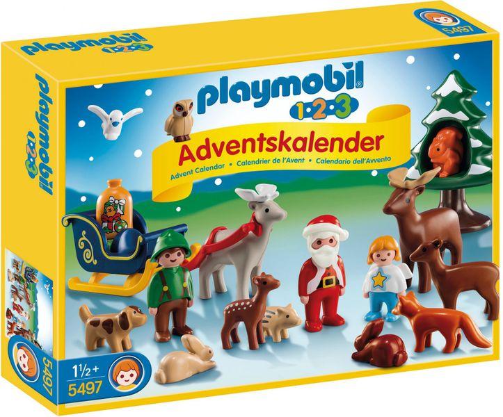 """Playmobil Adventní kalendář 1.2.3 """"Vánoce v lese"""""""