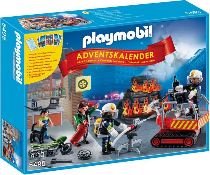 """Playmobil Adventní kalendář """"Zásah hasičů"""" s překvapením"""